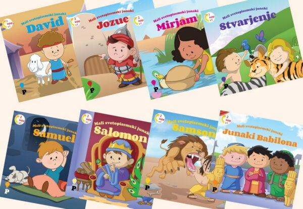 Dobra knjiga - Mali svetopisemski junaki - otroške knjige, Podvig