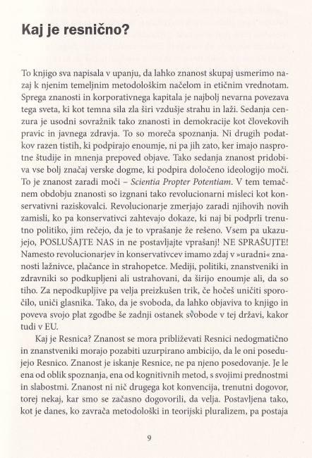 Dobra knjiga - Resnica vas bo osbovobodila - korona - represija - predgovor 1 pater Karel Gržan